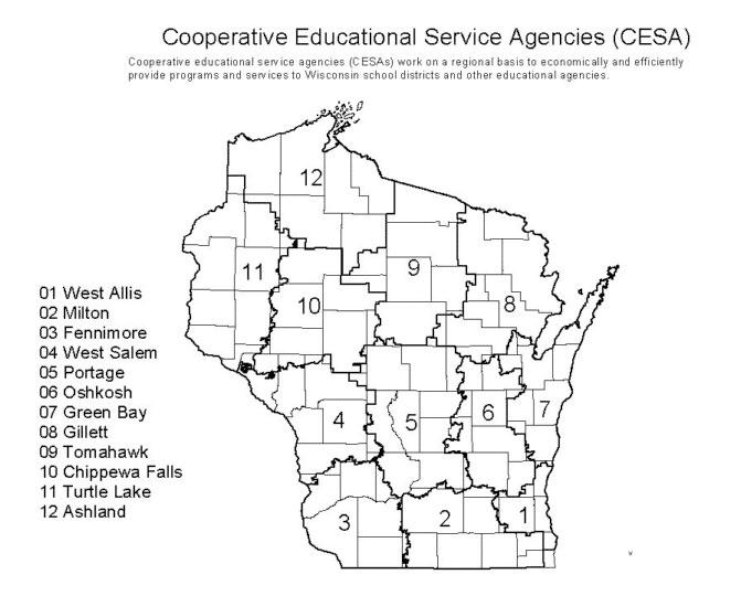 CESA Map