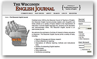 The Wisconsin English Journal
