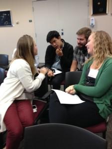 Briane Kashak, David Ma, Michael Granice and Ashley Gorski. C1.Increasing Student Engagement Through Student Input by Wendy Bernett