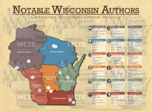 Wisconsin Literary Map